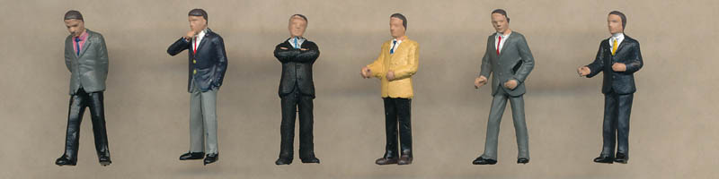 Bachmann Businessmen figures