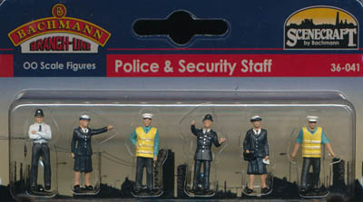 Bachmann Police & Security box