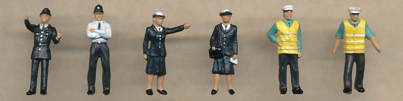 Bachmann Police & Security figures