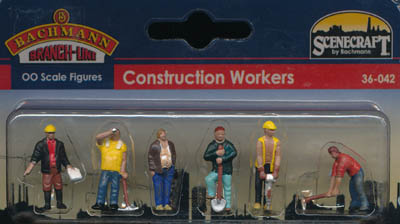 Bachmann Construction Workers box