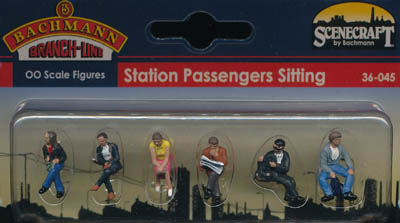 Bachmann Station Passengers Sitting box