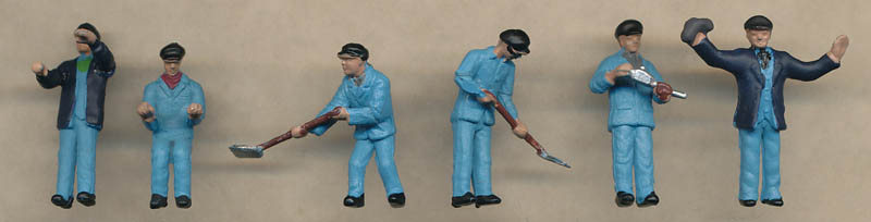 Bachmann Locomotive Staff figures