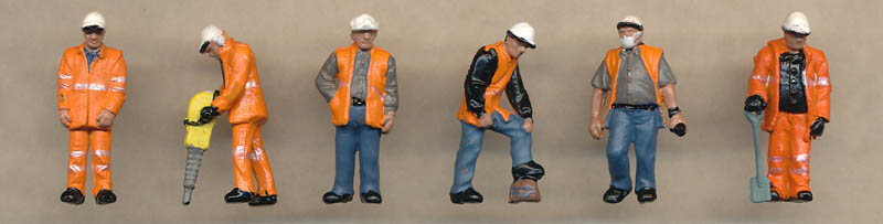 Bachmann Trackside Workers figures