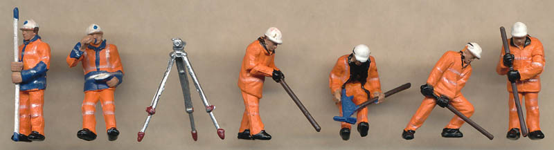 Bachmann Permanent Way Workers figures