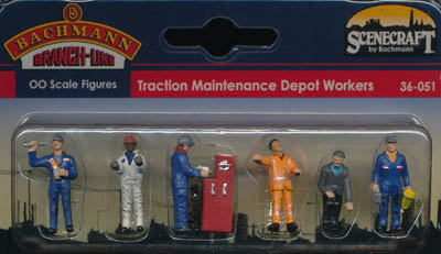 Bachmann Traction Maintenance Depot Workers box