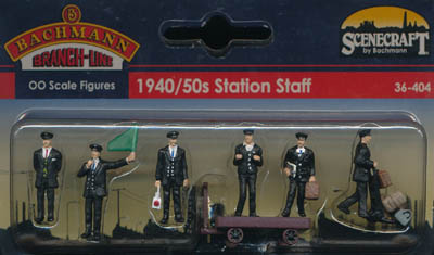 Bachmann 1940/50s Station Staff box