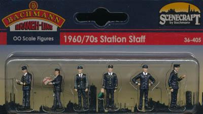 Bachmann 1960/70s Station Staff box