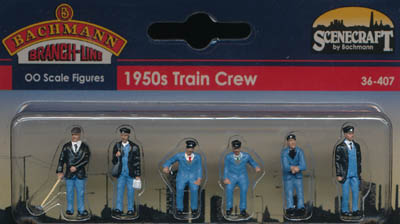 Bachmann 1950s Train Crew box