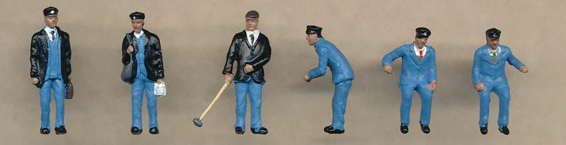 Bachmann 1950s Train Crew figures