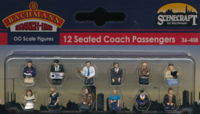 Bachmann Seated Coach Passengers box