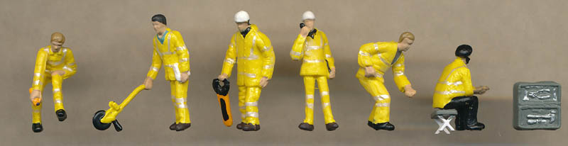 Bachmann Roadside Technicians figures