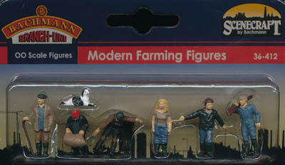 Bachmann Modern Farming Figures box