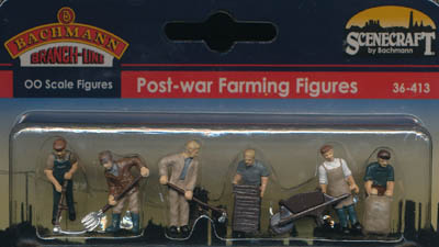 Bachmann Post-war Farming Figures box