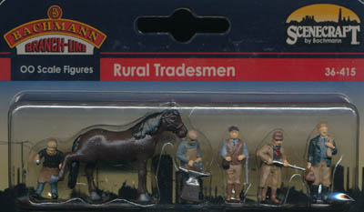 Bachmann Rural Tradesmen box